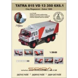 TATRA 815 VD 13 350 6X6.1 Clay Regazzoni 1988