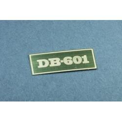 Leptaná cedulka k motoru DB-601