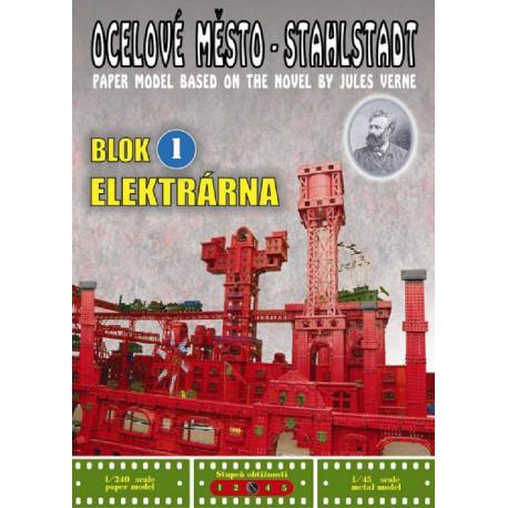 Ocelové město - StahlStadt: Blok 1 - Elekrárna
