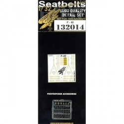 P-40 Kittyhawk Seatbelts 1:32