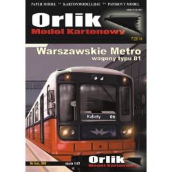 Warszawskie Metro - wagony typ 81
