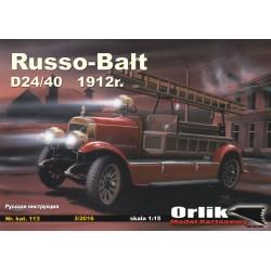 Russo-Balt D24/40 1912