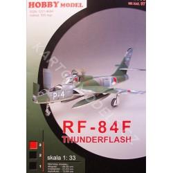 "RF-84F""Thunderflash"""