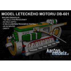 MODEL LETECKÉHO MOTORU DB-601 3:33