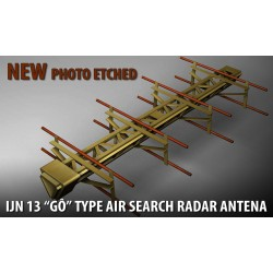 "IJN 13 ""GÔ"" radar antena 1/200 LEPT"