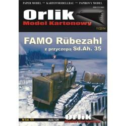 Famo Rubezahl z przyczepą Sd.Ah. 35